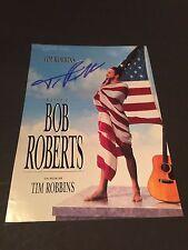 TIM ROBBINS In-Person (BOB ROBERTS) signed Fotopapier 13x18 Autogramm