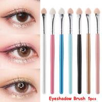 5Pcs Sponge Makeup Eye Shadow Eyeliner Brush Sponge Applicator Tool Comfy Brush