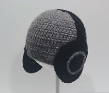 Cute Toddler Kids Girl&Boy Baby Infant Crochet Knit Hat beanie cap HEADPHONE