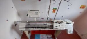 Passap/pfaff Knitting machine E6000 + 4600 motor & C600 Auto Color changer Video