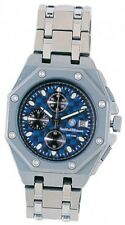 Smith & Wesson SWW-10-BLUE Titanium Chronograph Watch