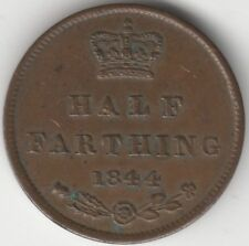 More details for 1844 victoria half farthing coin | british coins | pennies2pounds
