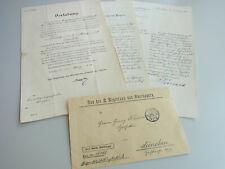 Dokumente 1912: Konzession Stiglmaier-APOTHEKE in München, Schleißheimer Str. 2
