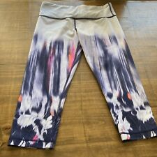 Lululemon Wunder Under Crop-Mirage Deep Indigo-8-RARE-EUC