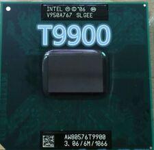 For Intel Core 2 Duo T9900 3.06GHz PGA478 6M Cache 1066 FSB Processor PM45 CPU