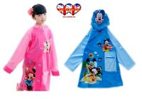 Children Raincoat, Minnie Mouse & Mickey Mouse Raincoat/ Waterproof.