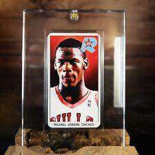 1984 85 Michael Jordan Rookie RC Card 1986 Tobacco Chicago Bulls NO 1986 Fleer