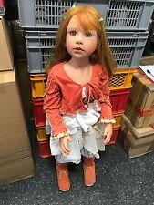 Monika Levenig Vinyl Puppe 100 cm. Top Zustand