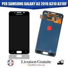 Écran Vitre Tactile LCD Pour Samsung Galaxy A3 (2016) SM-A310F Noir ASSEMBLÉ