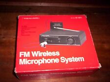 VINTAGE Realistic FM Wireless Microphone System - Model 32-1221A - Original Box