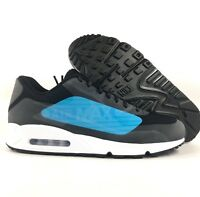 newest collection 9bcc7 42fbf Nike Air Max 90 NS GPX Big Logo Black Laser Blue White AJ7182-002 Men's