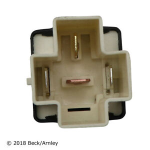 Fuel Pump Relay-Engine Cooling Fan Motor Relay Beck/Arnley 203-0126