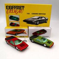 Atlas 1/43 Dinky Toys SET 1426 1426P Carabo Bertone Mecanique Alfa Romeo Diecast