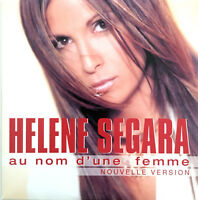 Helene Segara CD Single Au Nom D'Une Femme (Nouvelle Version) - France (G+/EX+)