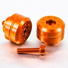 Pro-Bolt Aluminio Par Bar Ends (Pernos 35 mm) - NARANJA KTM RC 390 16+