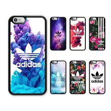 For iPhone 8 8 Plus 7 7 Plus 6s 6 X 5/5S/SE Case Adidas Logo Rubber Slim Cover
