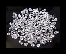 50 STONES OF 1MM EACH ROUND BRILLIANT LOOSE WHITE POLISHED DIAMOND 0.25TCW FG-I1