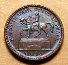 Civil War Token Fuld 174/272a Very Nice UNC - George Washington / Union for Ever