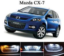Xenon White License Plate / Tag 168 194 LED light bulb for Mazda CX-7 (2Pcs)