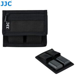 Camera Battery + Card Pouch Bag Case Holder fr Canon LP-E6N LP-E10 LP-E12 LP-E17
