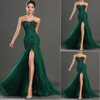 Green Sweetheart Applique Bridal Dress Long Evening Prom dresses Party Ball Gown