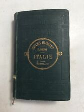 1885 Guides Diamant Italie By P Joanne PreownedBook.com OldPaperMaps.com