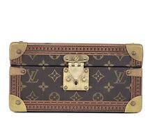 Louis Vuitton Trunk Conffret Tresor 24 Monogram Box Jewelry Case Boite 1LA419