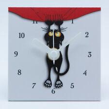 Orologio Moderno Gatto da tavolo e da parete, Silenzioso, Design, Arredamento