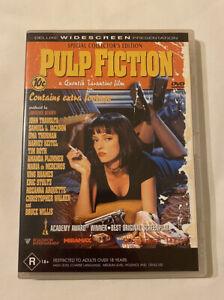 DVD - Pulp Fiction (1994 Movie) Special Collectors Edition - Deluxe Widescreen