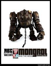 1/12 threeA Ashley Wood 2000AD ABC Warriors Mongrol the Mess RVHK Blackhole Ver.