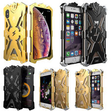 S!mon Thor Outdoor Aluminum Bumper Armor Case For iPhone X XS Max XR 8 7 Plus