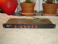 Furman RV-1, Latter Version, Spring Reverb with Limiter, Equalize, Vintage Rack