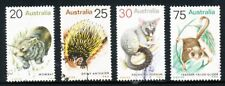 Australian 1974 Native Animals, set of 4 stamps, used