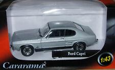 Oxford Diecast/Cararama Ford Capri Mk.1 Silver 1:43 Scale New & Boxed