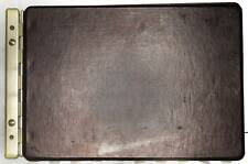 Trussell Sectional Post Binder Model 6012 Dark Brown 17-3/4 Inch Vintage
