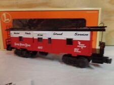 LIONEL TRAIN NKP NICKEL PLATE ROAD LIGHTED BAY WINDOW CABOOSE CAR W/BOX 6-19752