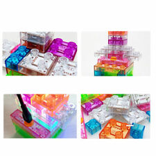 32pcs Touch-controlled Light Electronic Circuits Building Blocks Physics Toy