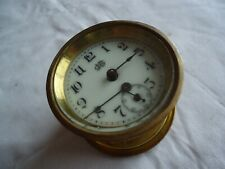 Gorgeous Antique Jennings Brother Clock Movement / Enameled Face VERY CLEAN