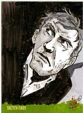 Night of the Living Dead Sketch Card drawn by Ted Woods /2