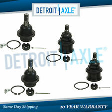 4 pc Kit: New Front Upper and Lower Ball Joint Kit for Expedition and Navigator
