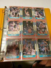 1986 Fleer Basketball Set 131/132 No Michael Jordans Great Starter Set.