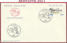 ITALIA FDC CAVALLINO 93 ^ FIERACAVALLI FIERA CAVALLI VERONA 1991 U657