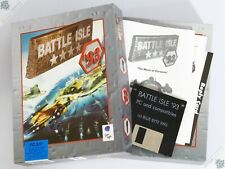 "PC IBM BATTLE ISLE '93 BIG BOX 3.5"" VINTAGE COMPUTER GAME SCI-FI BLUE BYTE"