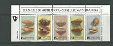 1995 Sea Shells of South Africa set 5 Complete MUH/MNH
