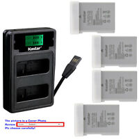 Kastar Battery LZD2 Charger for Nikon EN-EL14A MH-24 & Nikon D3200 DSLR Camera