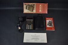 VINTAGE Texas Instruments Model SR-50A Electric Calculator IN BOX PARTS REPAIR