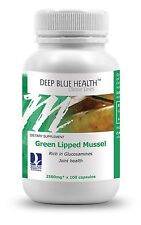 New Zealand Green Lipped Mussel (100 Caps) Joints Pain & Arthritis Sufferers