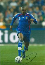 William GALLAS SIGNED Autograph 12x8 COA Photo AFTAL FRANCE World CUP RARE