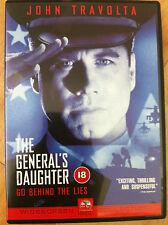 JOHN TRAVOLTA Madeleine Stowe general's Daughter ~ 1999 Mystery SUSPENSE GB DVD