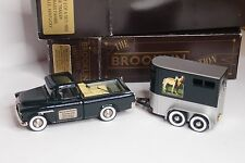 BROOKLIN BRK 62 + BRK 53x CHEVROLET CAMEO + HORSE TRAILER 1955 BLUE GRASS FARM